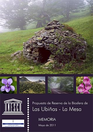 Portada dossier enviado a la UNESCO